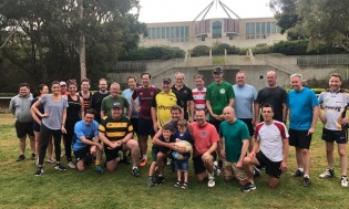 Pollies v Press Sports Week November 2019 - The Gallery dug deep, deeper than they've dug before...but it wasn't deep enough